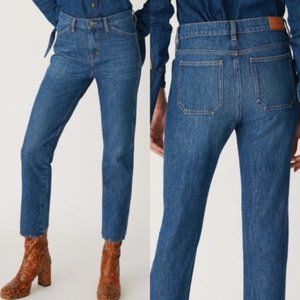 Anthropologie M.i.H Straight Boyfriend Jeans Size 27